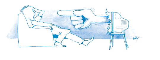 Illustration - tidiga varningstecken vid schizofreni.